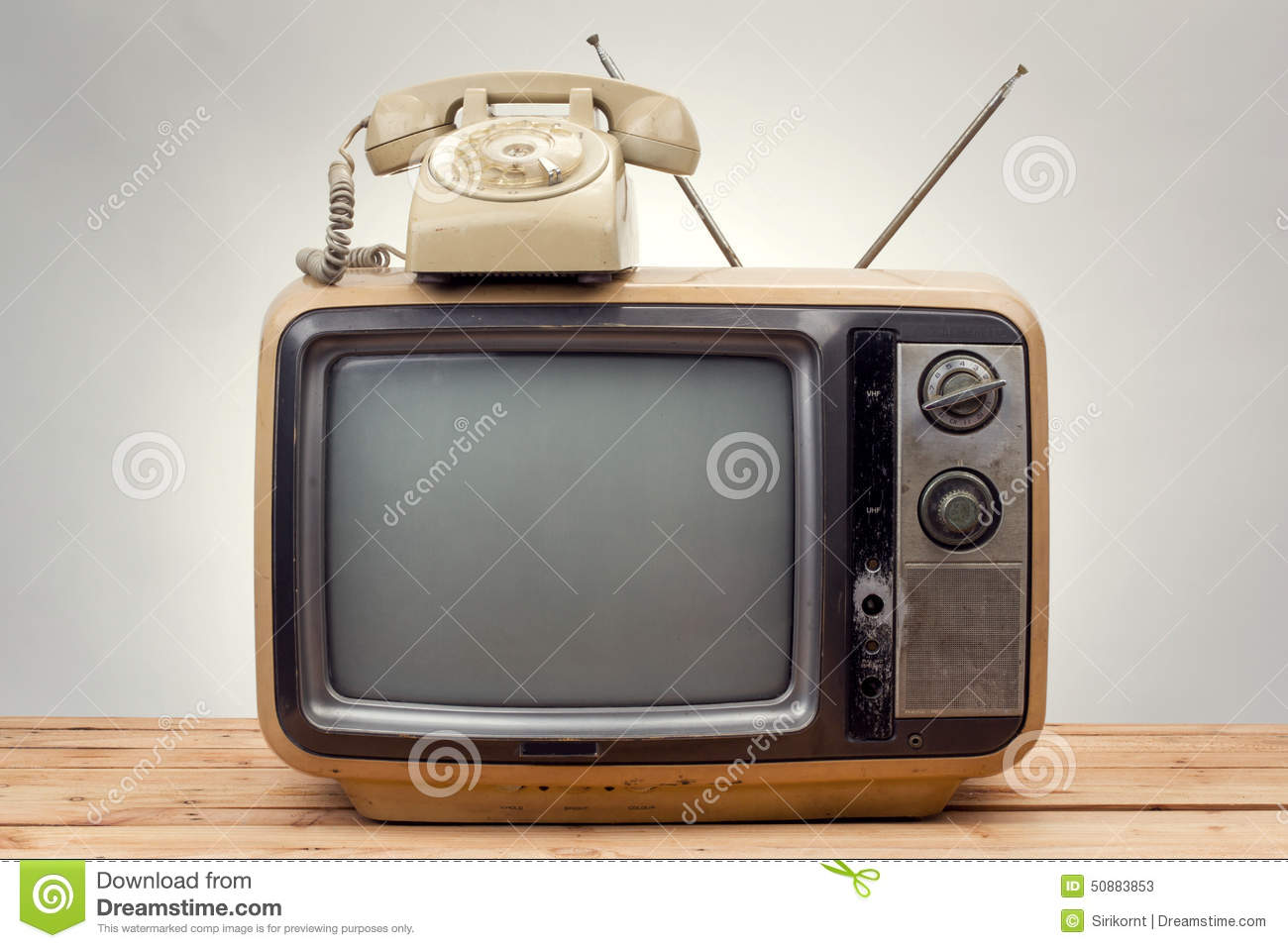 television Vintage style