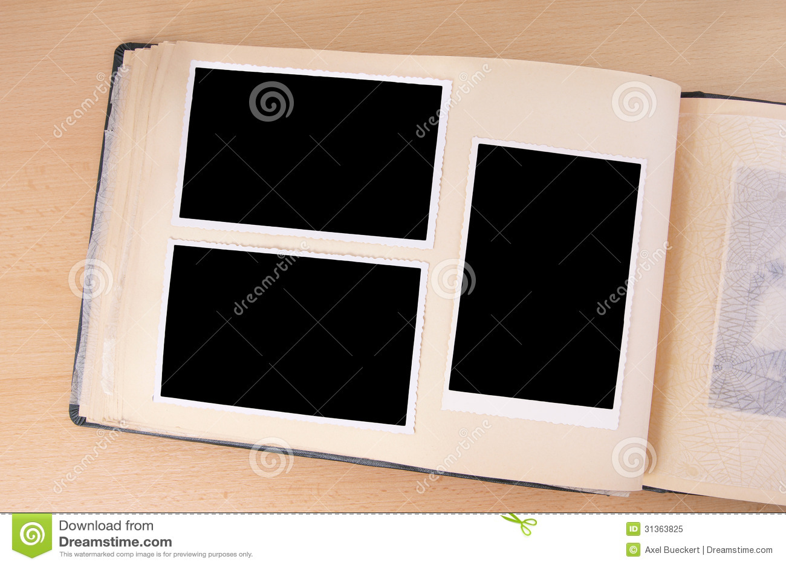 old photo album stock image image of historic design 31363825. Black Bedroom Furniture Sets. Home Design Ideas