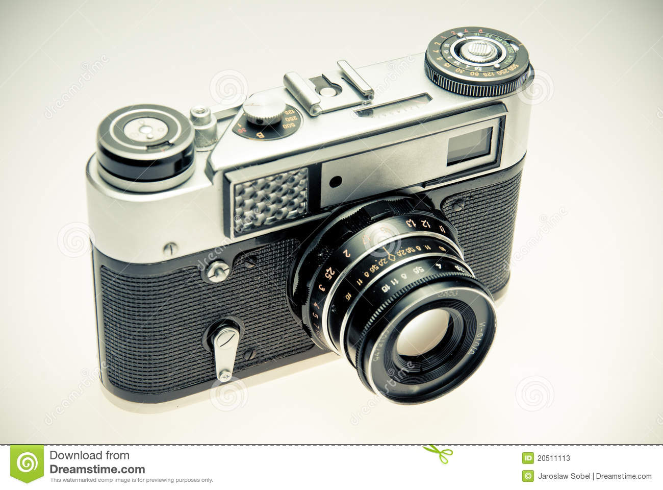 Old Photography Camera In Vintage Style Stock Photos - Image: 20511113