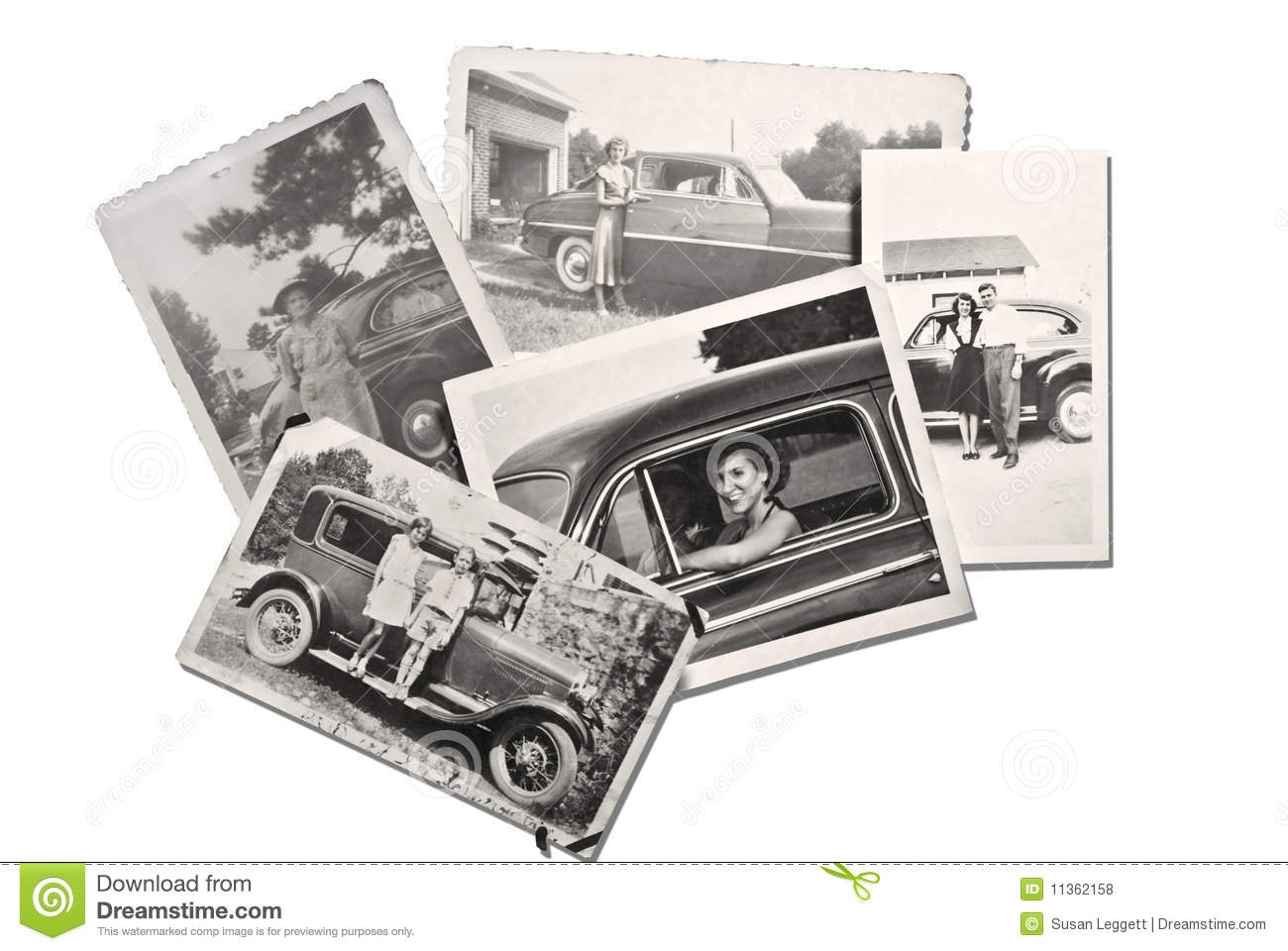 Download Old Photos People and Cars stock photo. Image of vintage - 11362158