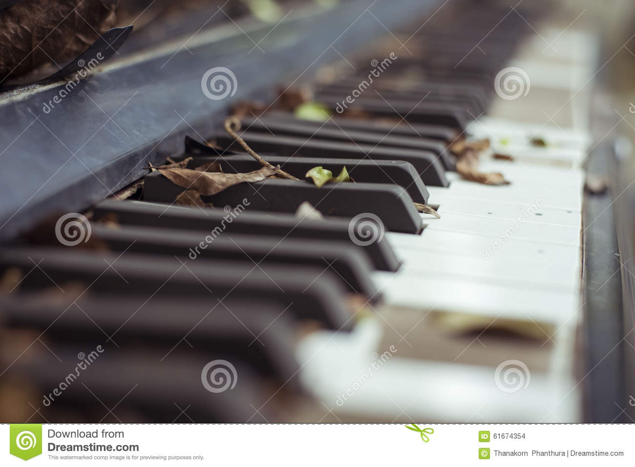 Old piano stock photo  Image of instrument, orchestra - 61674354