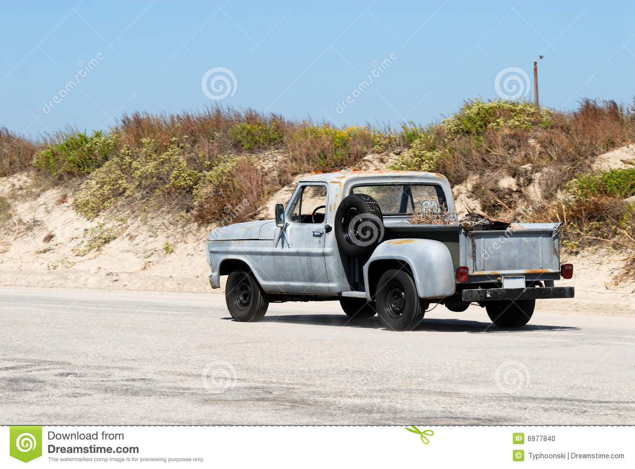 Old Pickup Truck Stock Photos - Royalty Free Images