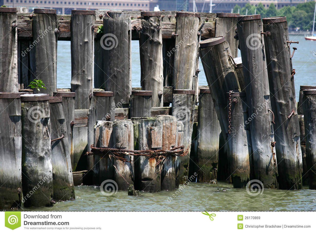 Old Pilings Royalty Free Stock Images Image 26170869