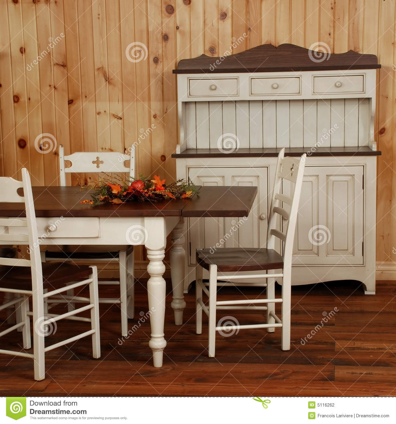Old Pine Wood Kitchen Set Stock Photo Image Of Change 5116262