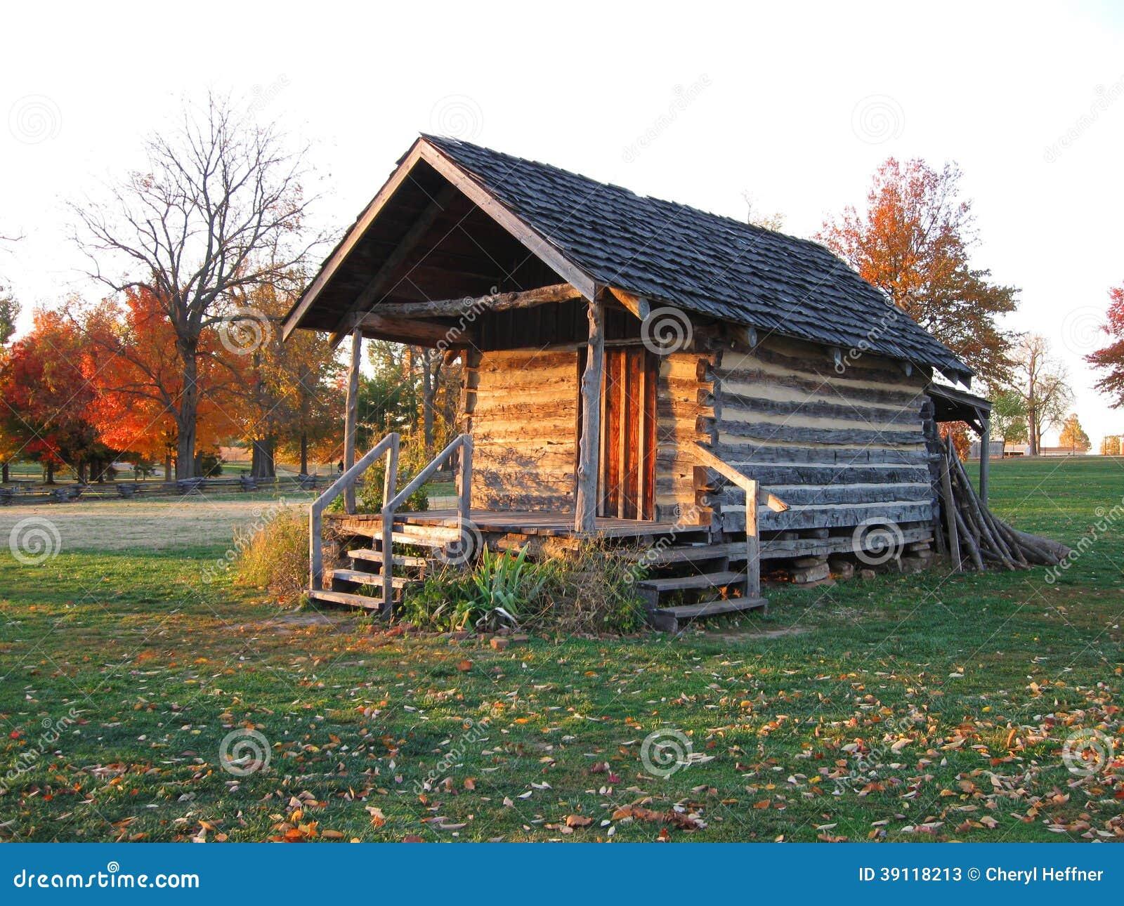 old pioneer log cabin stock image image of haunted gold 39118213. Black Bedroom Furniture Sets. Home Design Ideas