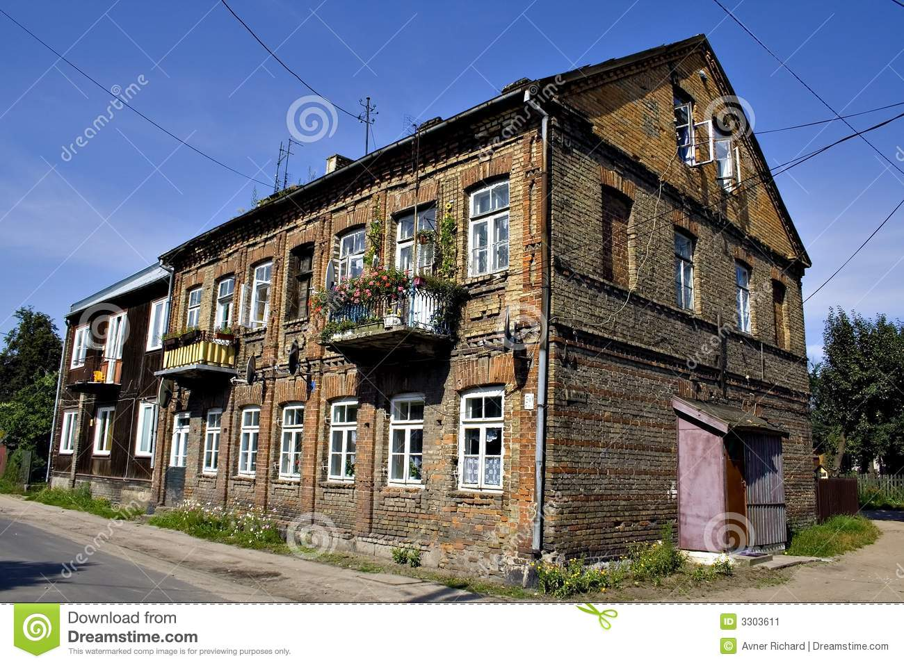 Old polish house stock image image of branicki castle Polish house plans