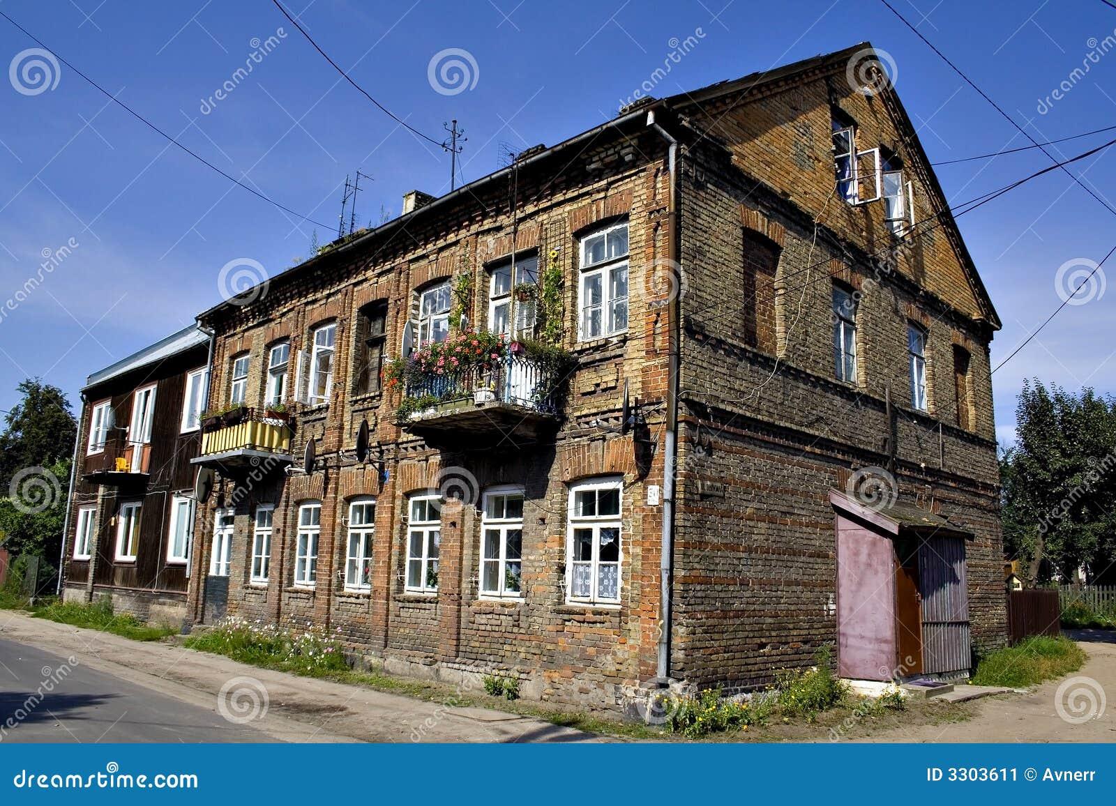 Old Polish House Stock Image Image Of Branicki Castle