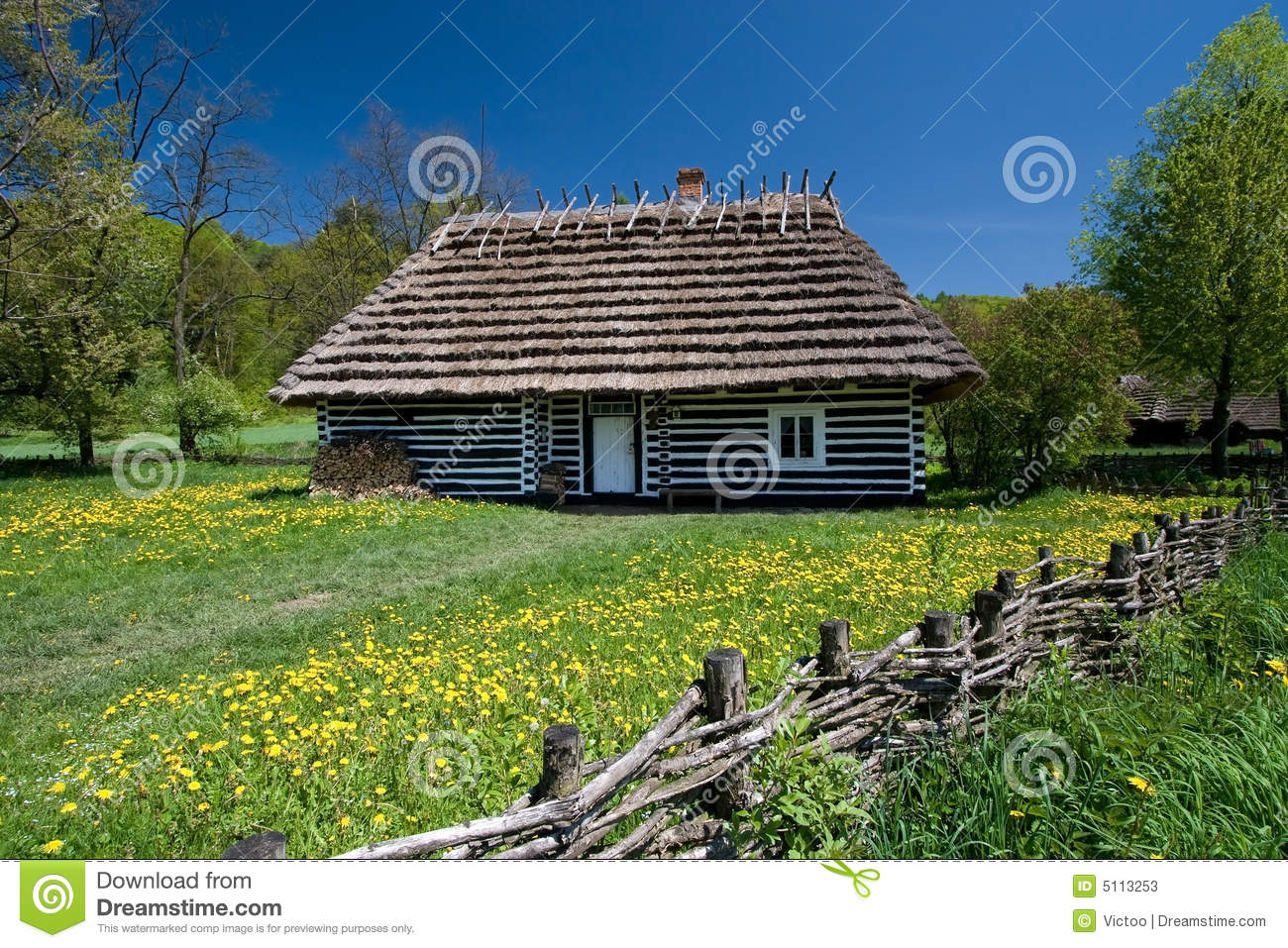 Old Polish House Stock Photos Image 5113253