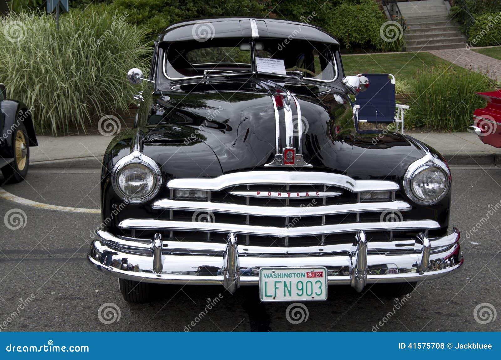 Old Pontiac Car Show Editorial Stock Photo