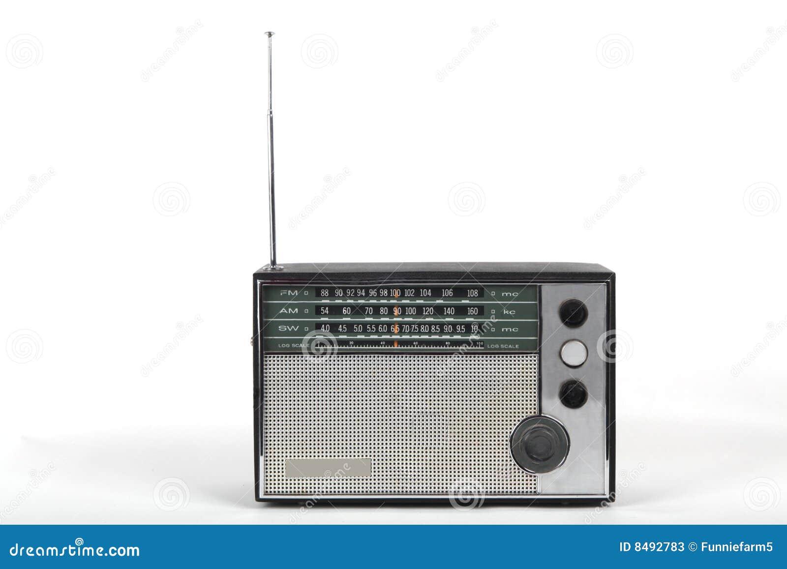 Old Portable Radio Stock Photos Image 8492783