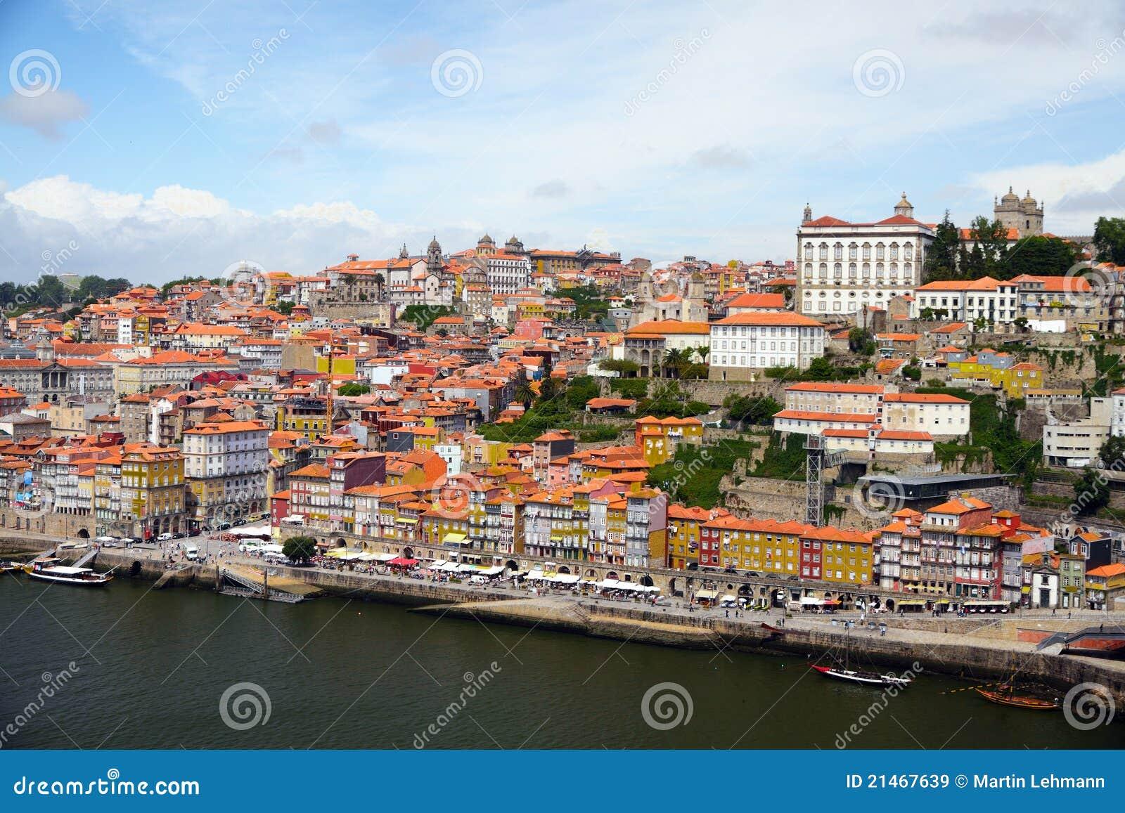 Porto In Portugal Historic City Centre Stock Photo Image 47150749