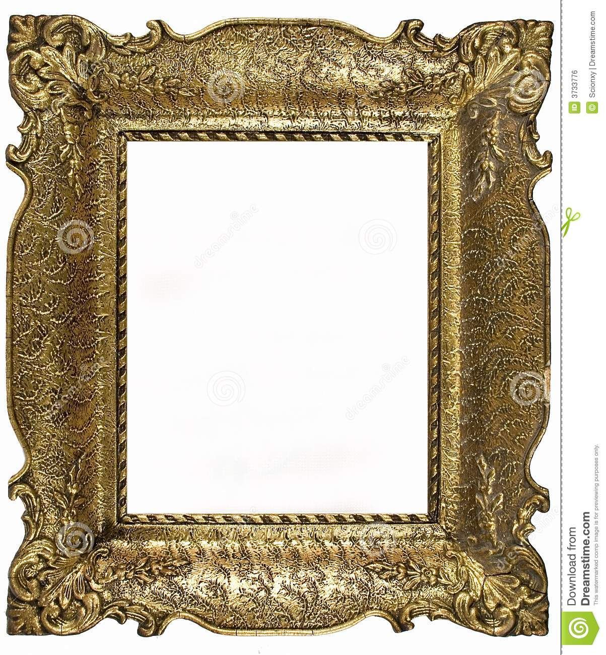 Old portrait frame stock photo image of edge empty for How to make vintage frames