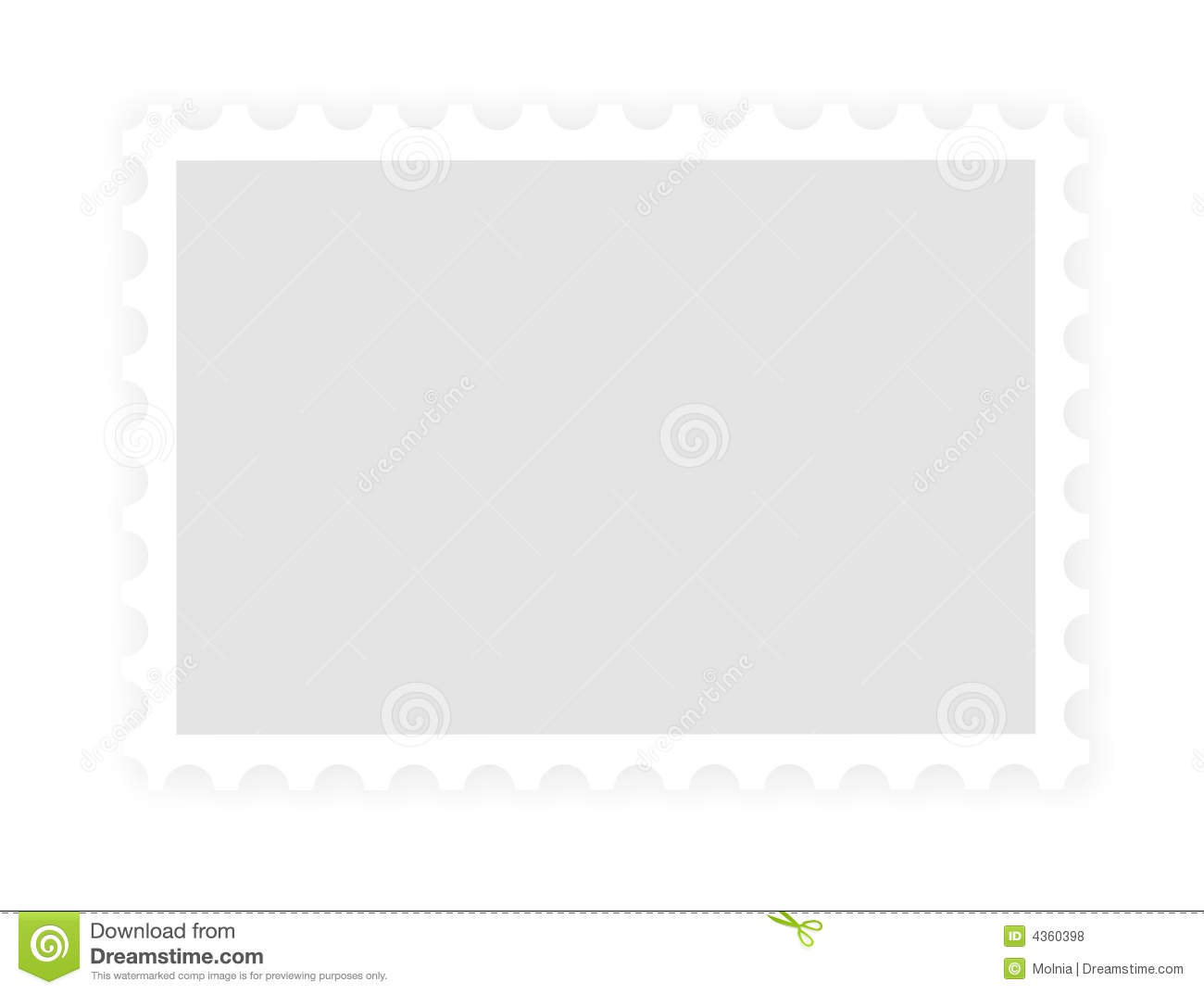 Old post mark frame stock illustration. Illustration of moments ...