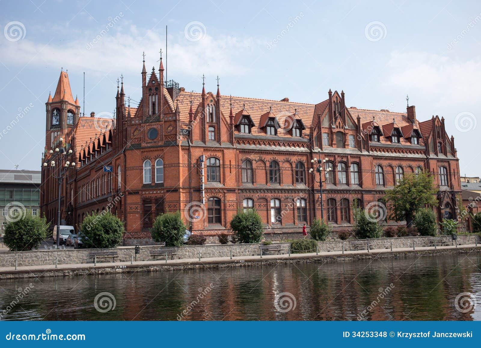 Bydgoszcz Poland  city photos : BYDGOSZCZ. POLAND JULY 27: City in Kuyavia Kujawy region. Old post ...