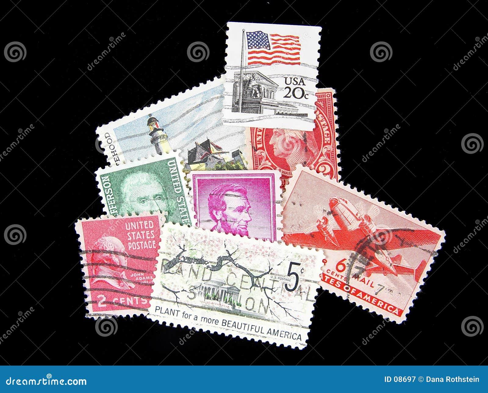 Postage Stamps Mail US Legal Ship Deliver