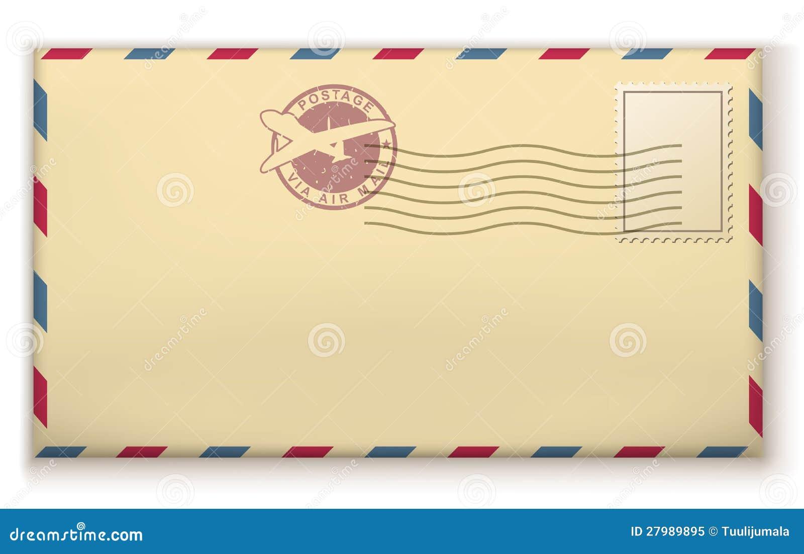 Old Postage Envelope Royalty Free Stock Photo - Image: 27989895