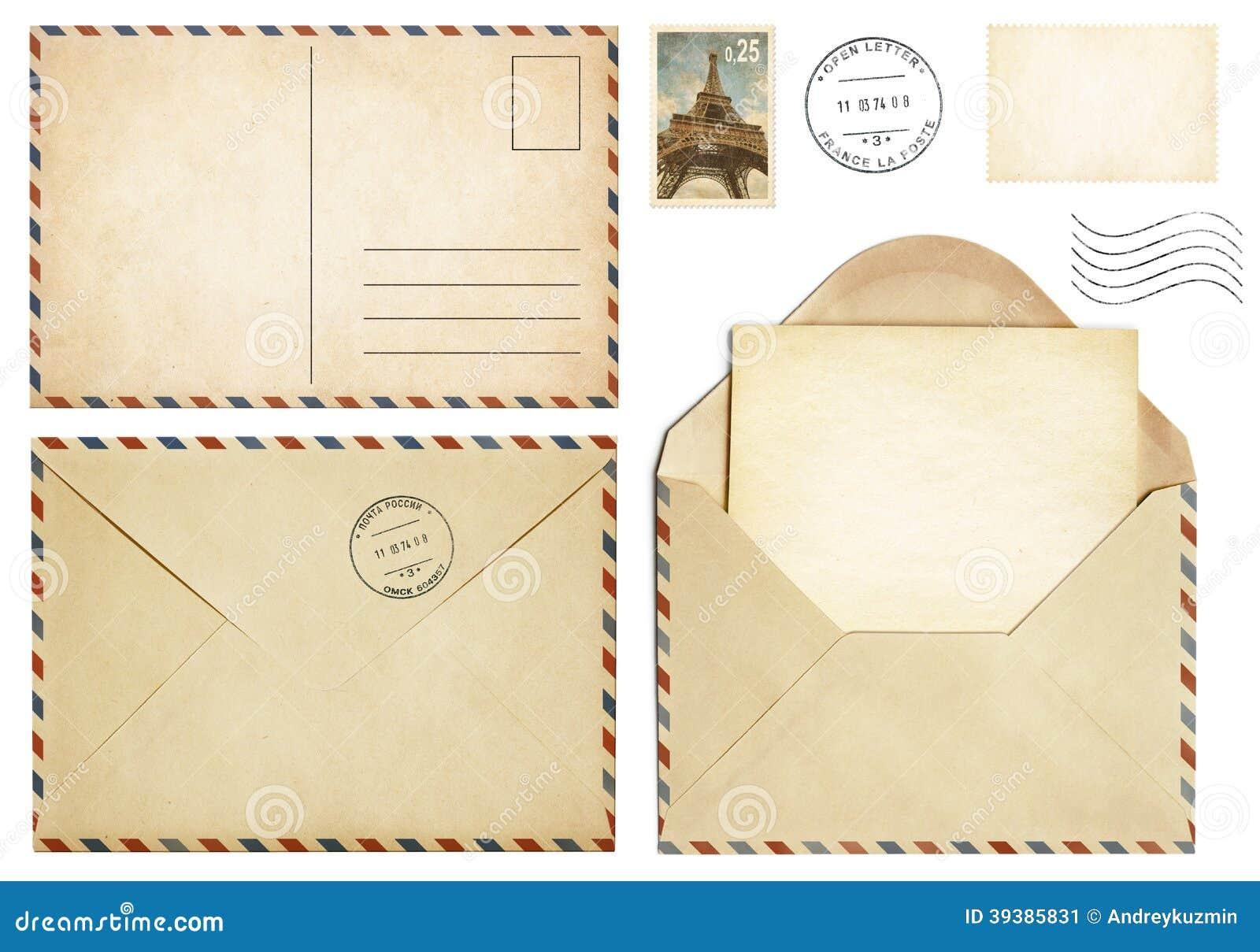 Открытки конверт для письма