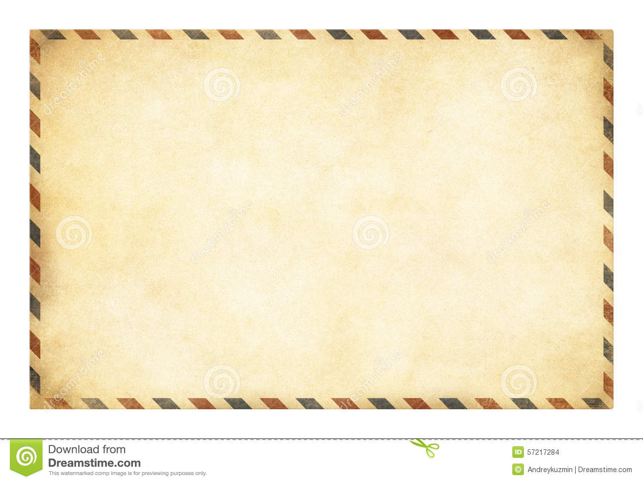 Old Postcard Template With Clipping Path Included Photo – Postcard Template