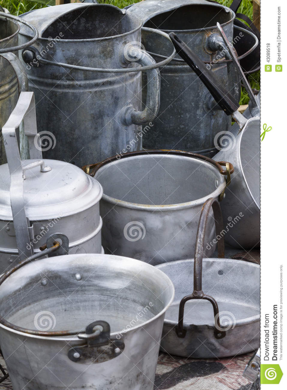 Old Pots And Pans Stock Photo Image 43089518