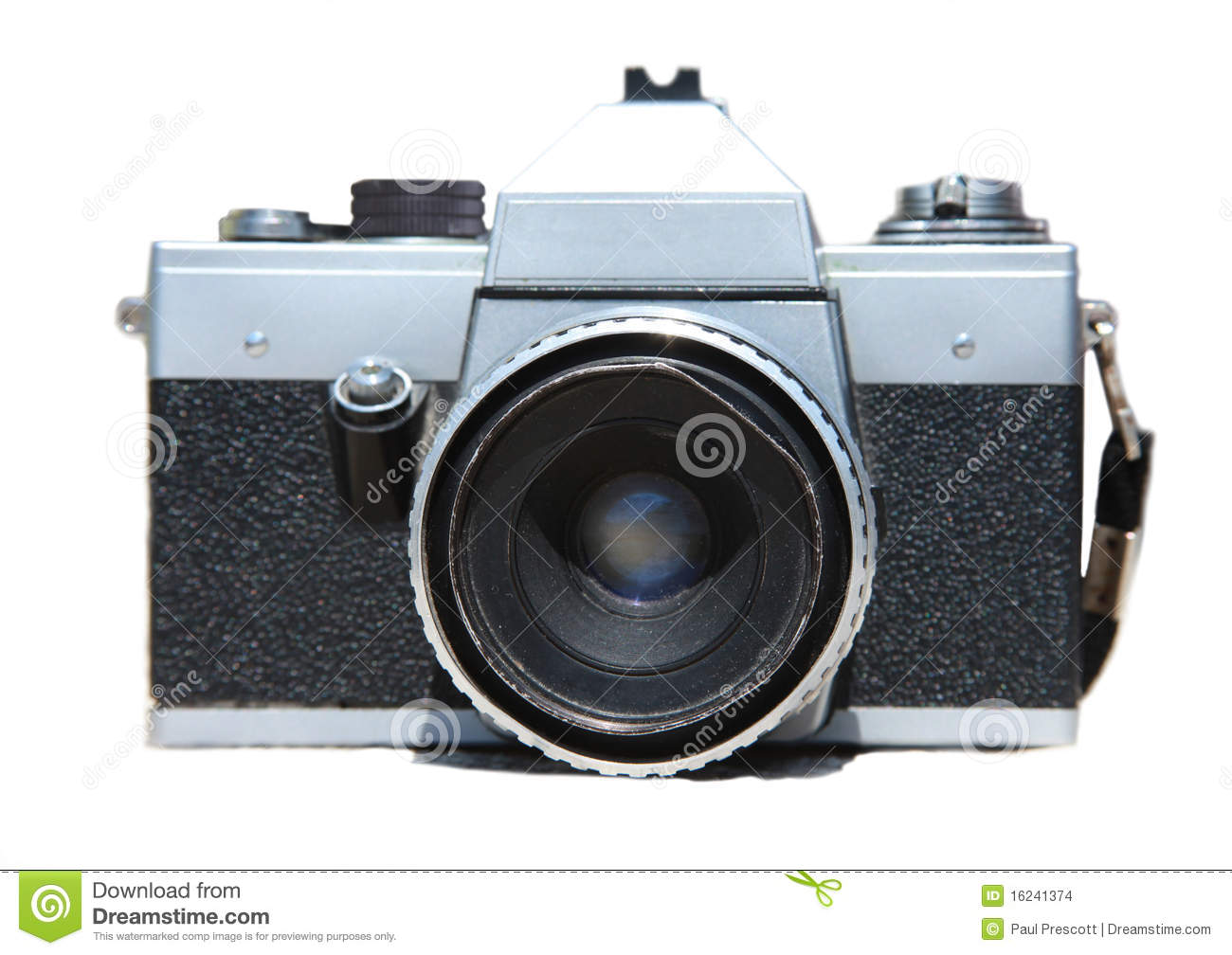 Old praktica camera stock photo. image of antique frame 16241374