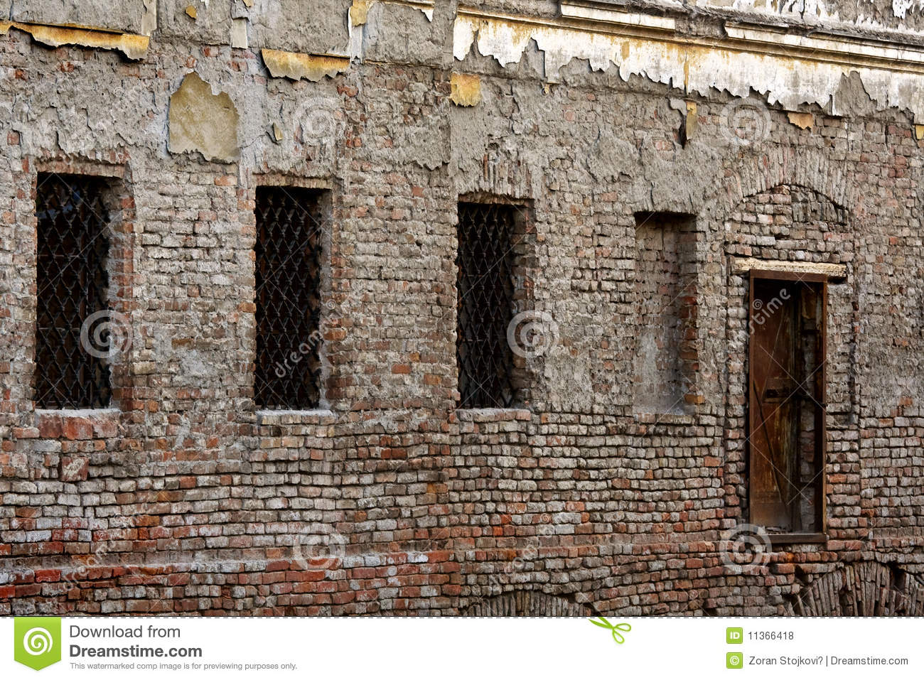 Download Old prison stock photo. Image of punishment, secure, architecture - 11366418