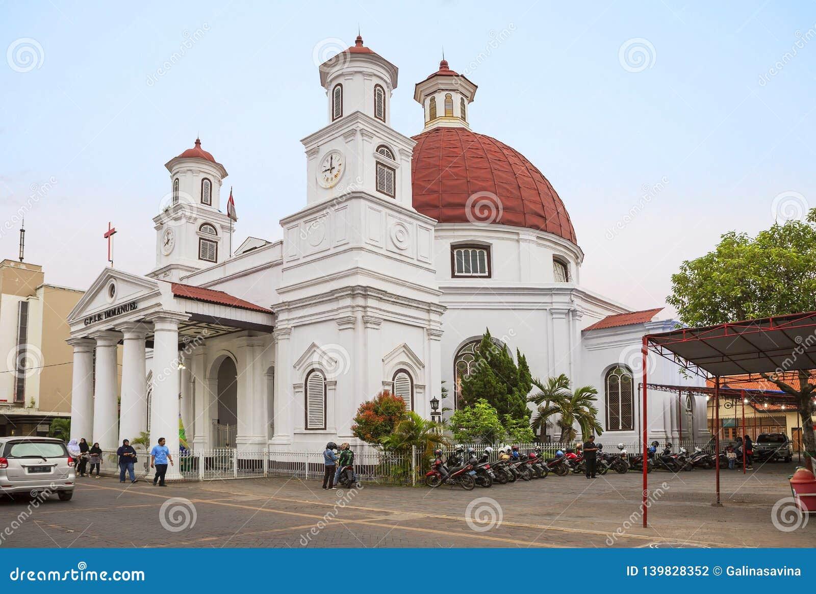 Semarang Indonesia Blenduk Church Editorial Photography Image