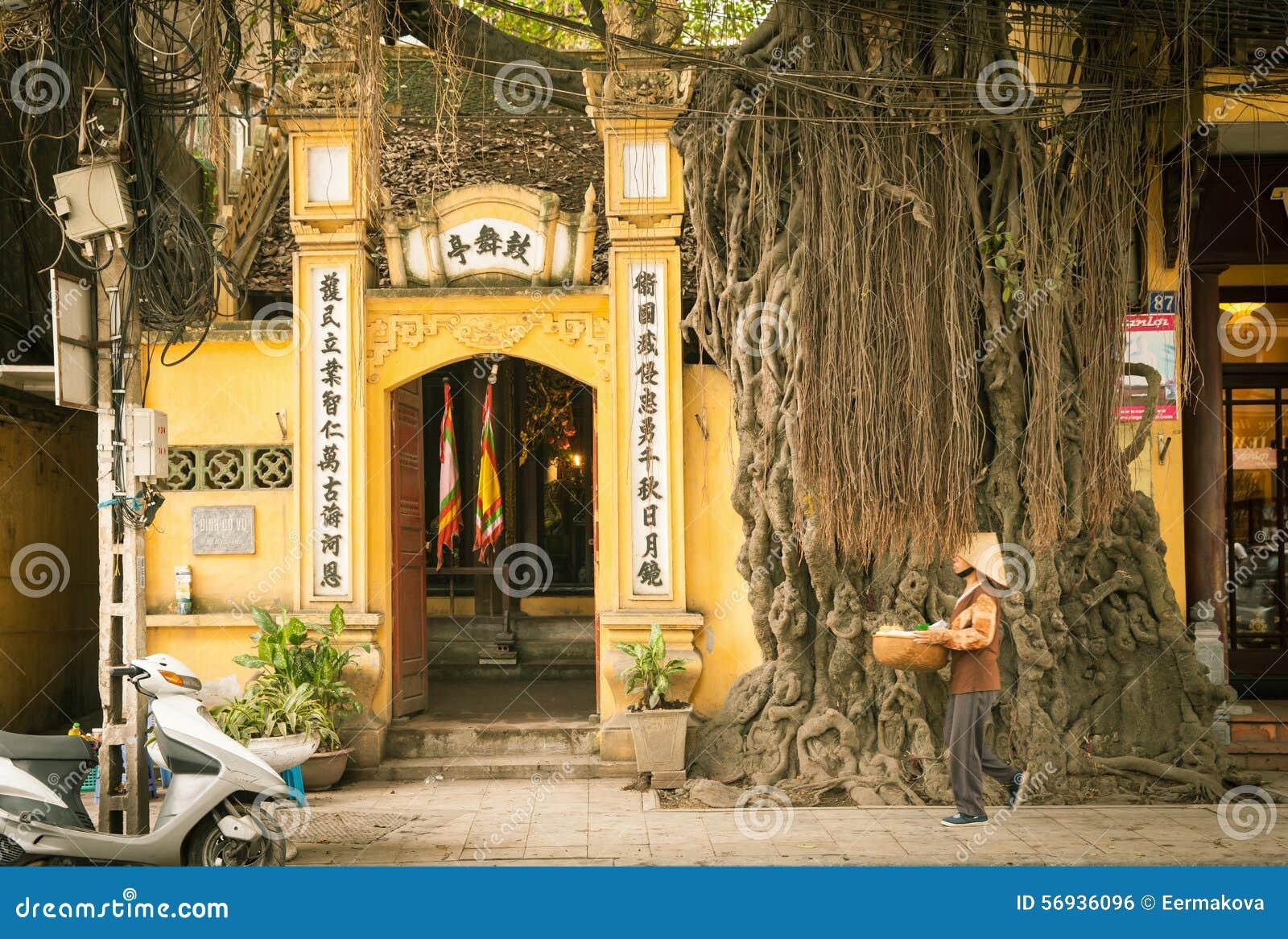 Old Quarter Street Hanoi Editorial Photo Image 56936096