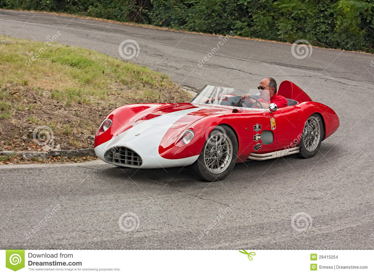 Old Racing Car Bandini 750 Sport Editorial Stock Image - Image of ...