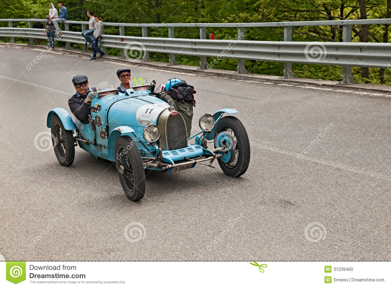 Old Racing Car Bugatti T 35 A Editorial Image - Image of racing ...