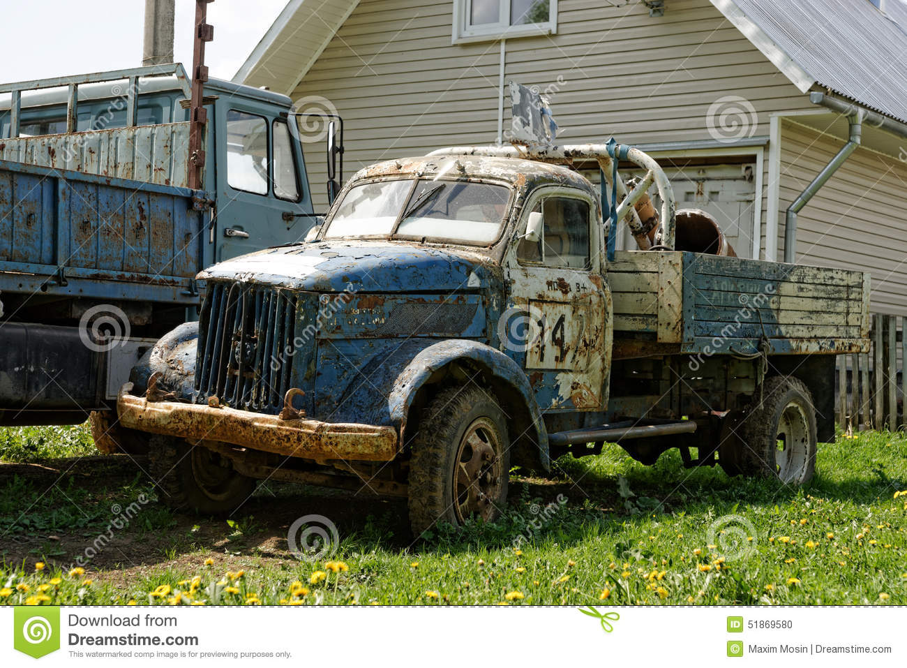 Old racing truck. editorial image. Image of russian, russia - 51869580
