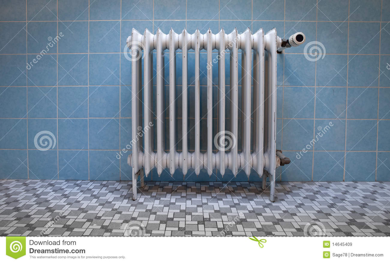 Old Radiator Stock Image Image Of Metal Green Heater