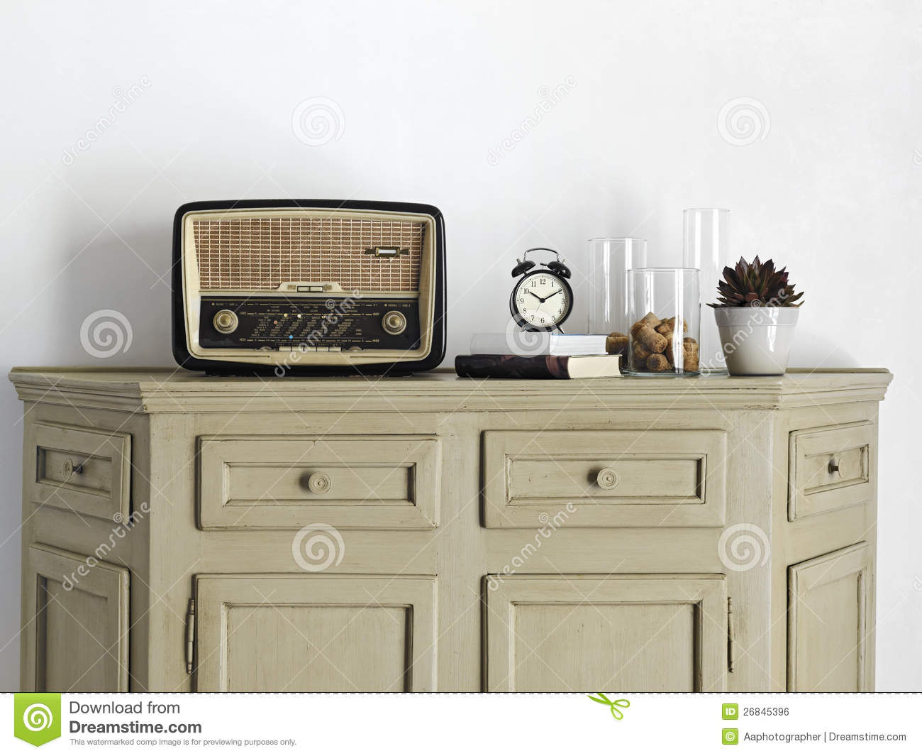 living room radio radio on the sideboard in the living room royalty free 11616