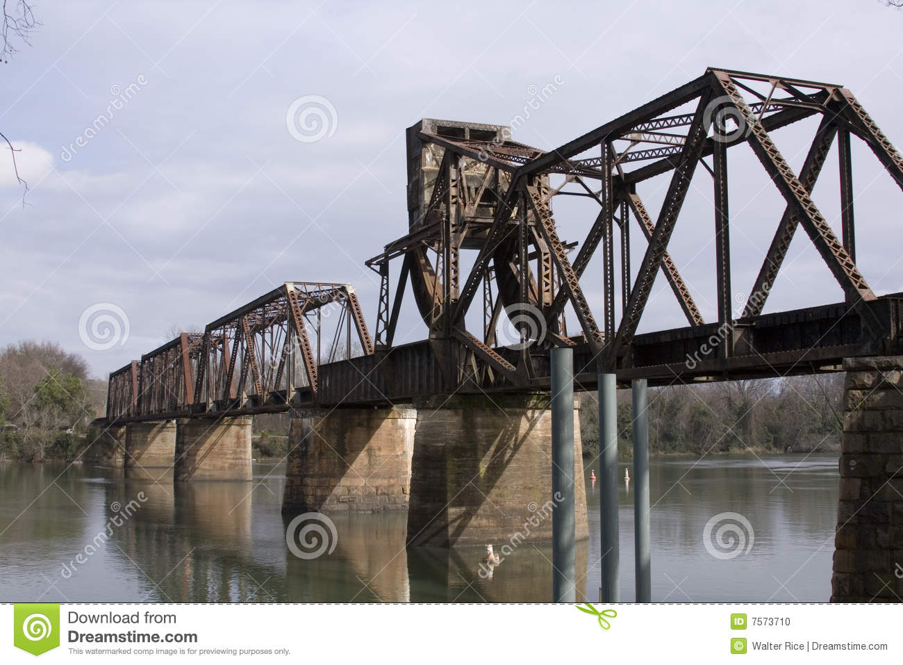 Old Railway Bridge Stock Photo - Image: 7573710