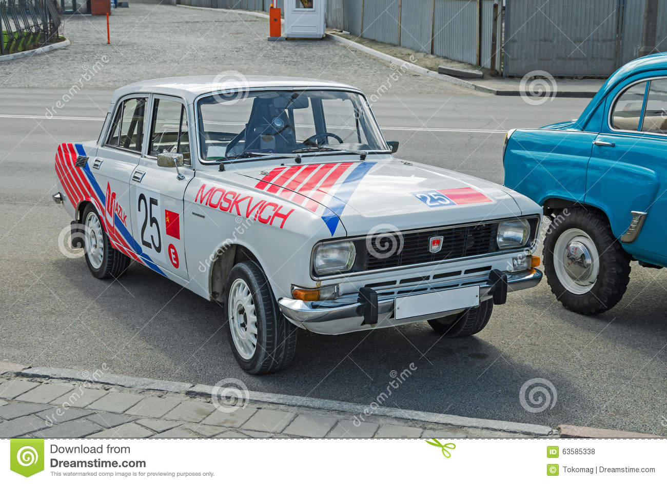 Old rally car editorial stock photo. Image of coupe, mobile - 63585338