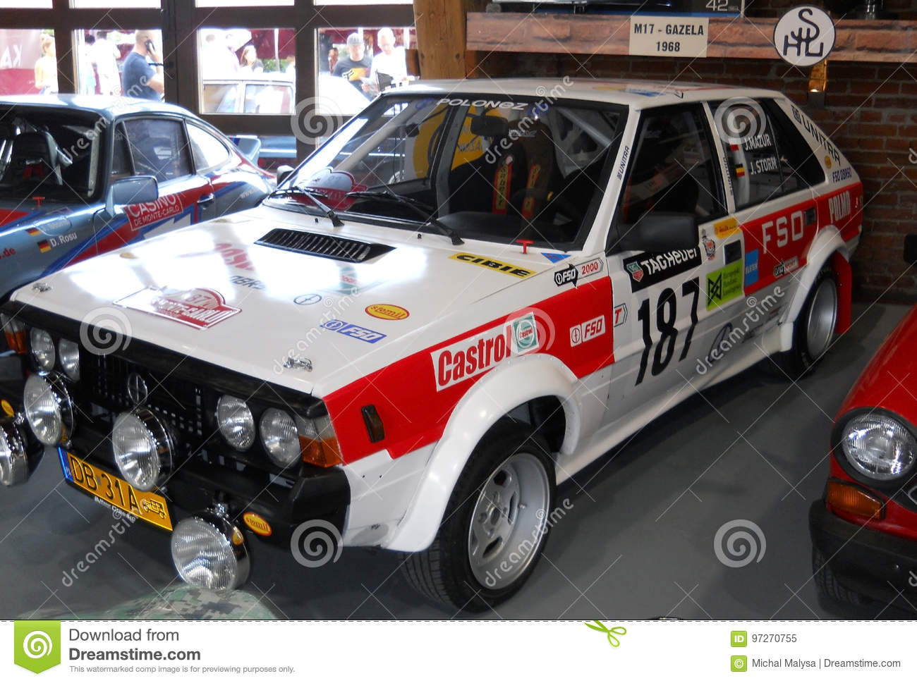 Old Rally Car, Polish FSO Polonez Editorial Image - Image of cars ...