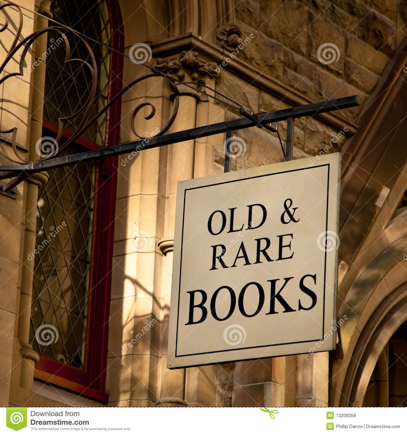 Outside an old building reads old amp rare books melbourne australia