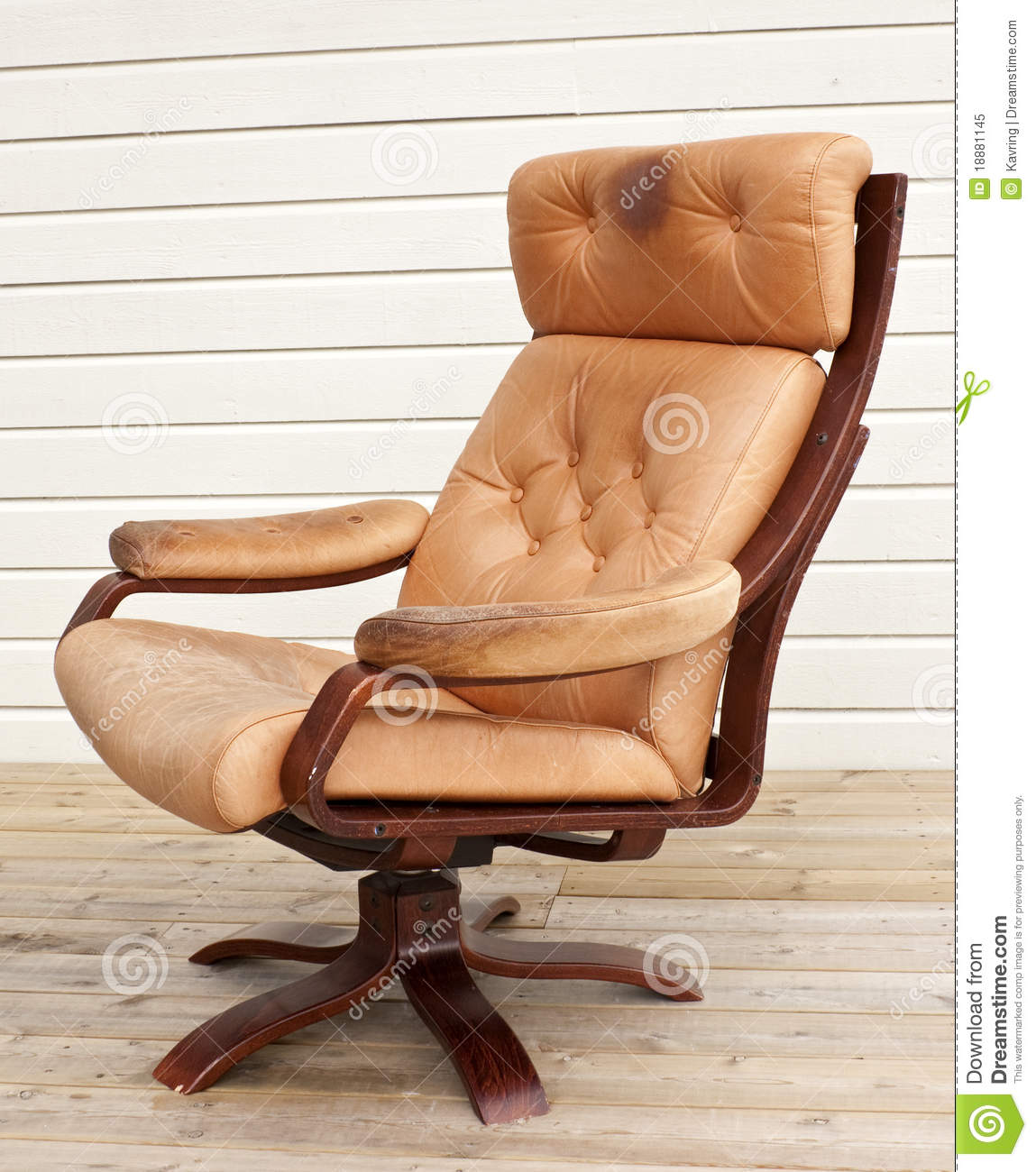Incredible Old Recliner Stock Image Image Of Flooring Furniture Machost Co Dining Chair Design Ideas Machostcouk