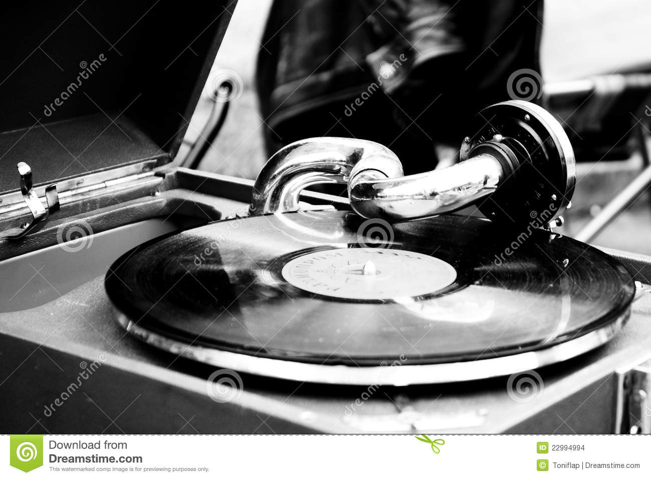 Old Record Player Stock Images Image 22994994