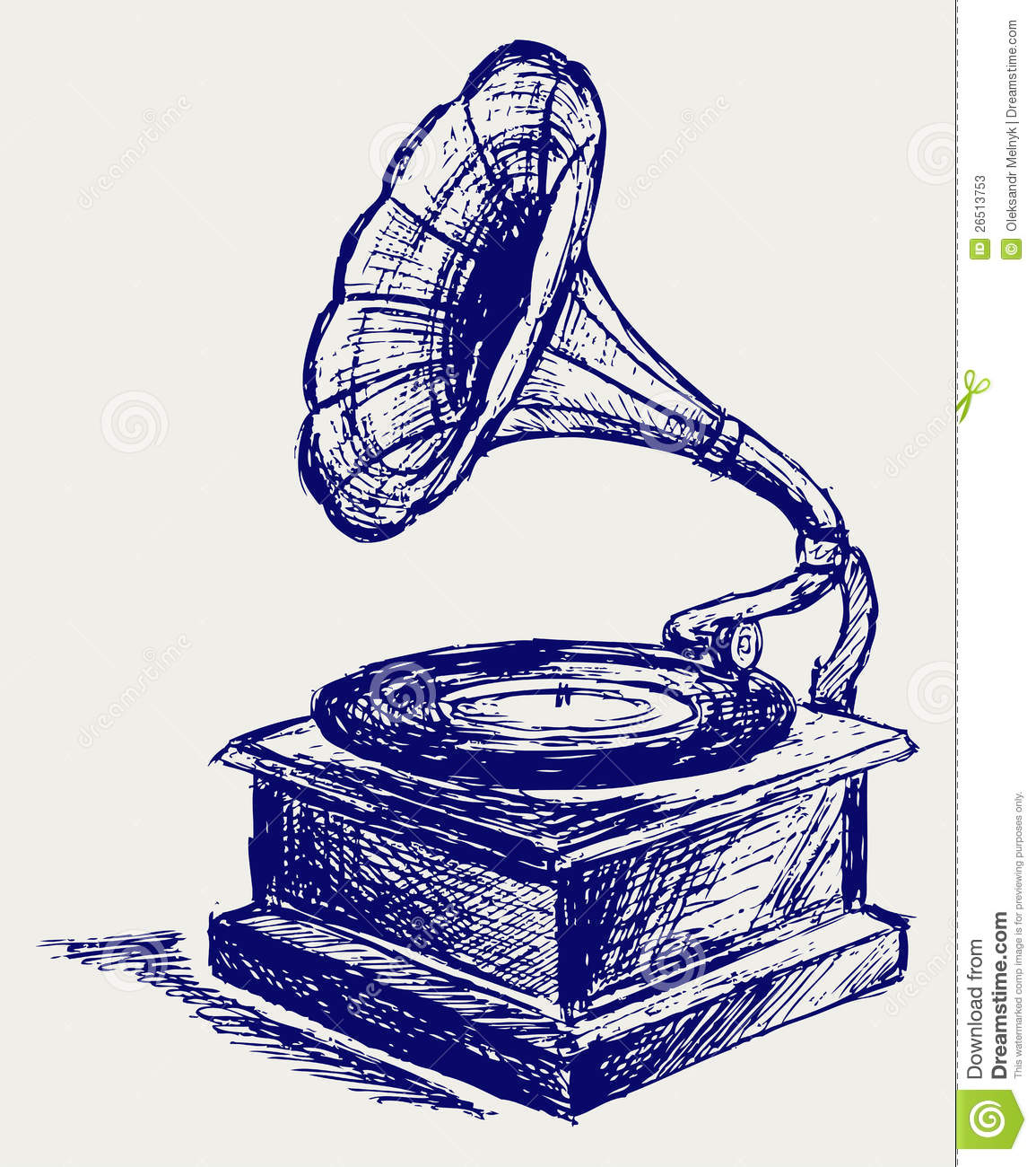 Old Record Player Stock Photos Image 26513753