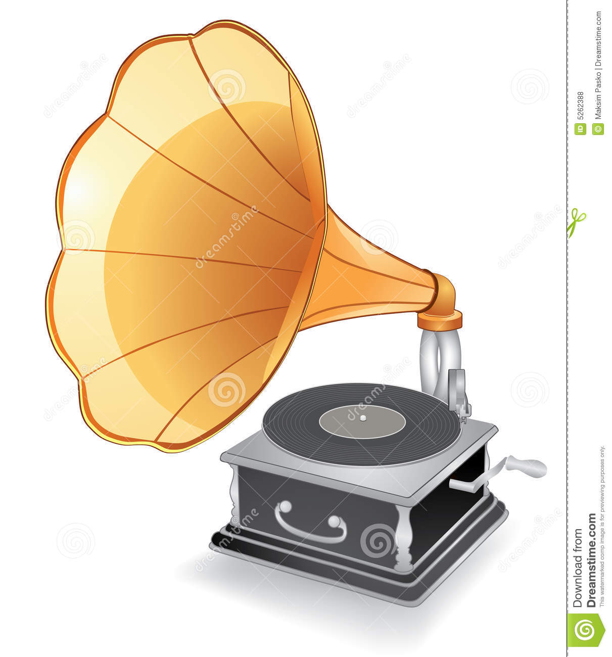 Old Record Player - Phonograph Royalty Free Stock Photos - Image ...