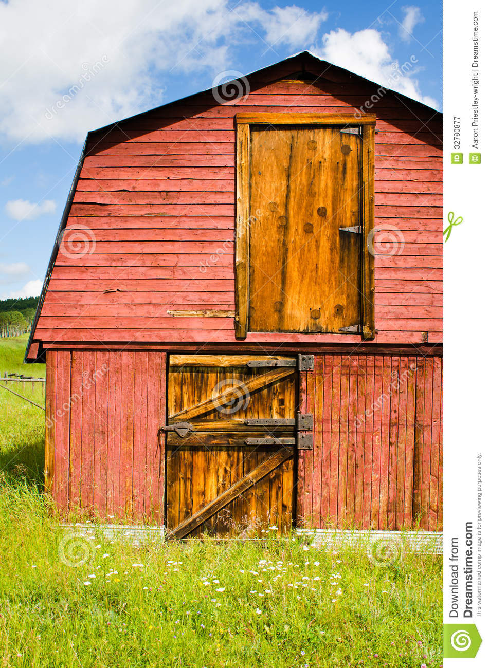Old Red Barn Royalty Free Stock Photography Image 32780877