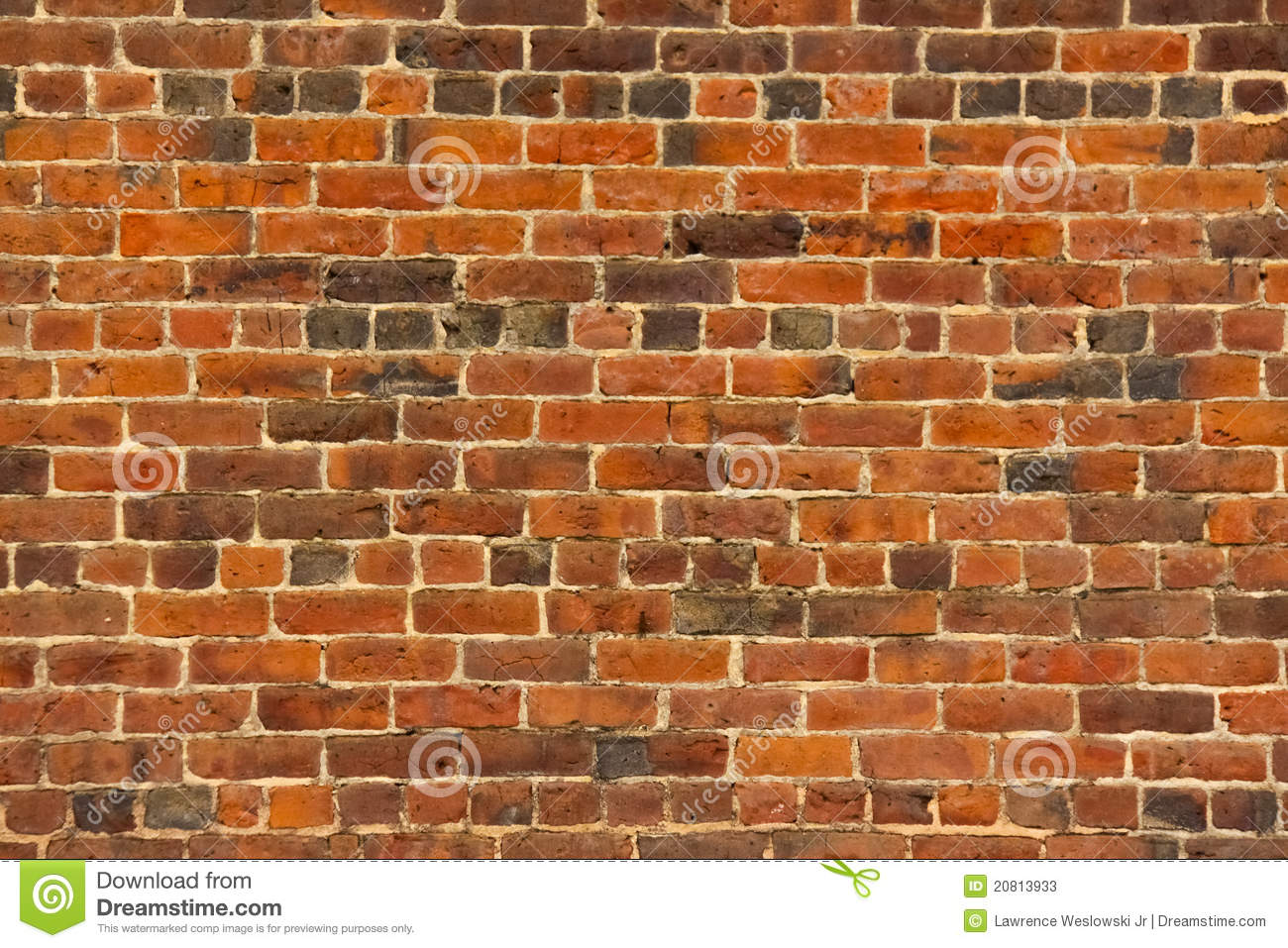 Download Old Red Brick Wall With Lots Of Texture And Color Stock Image - Image of detail, built: 20813933
