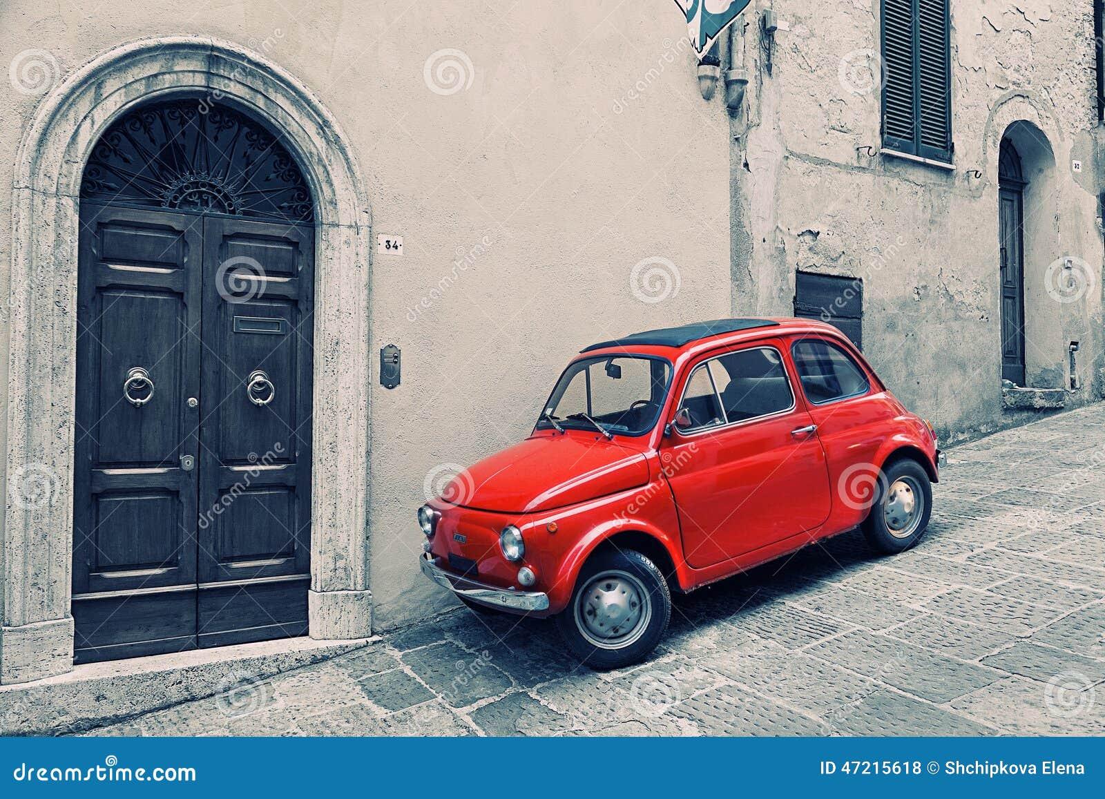 Red Fiat 500 Editorial Image Cartoondealer Com 29567140