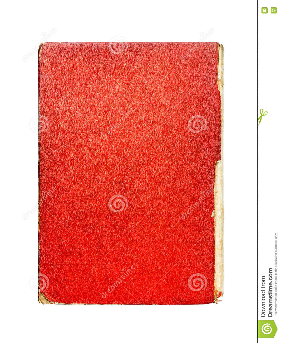 Hardcover Book Texture : Abstract vintage old paper texture stock image