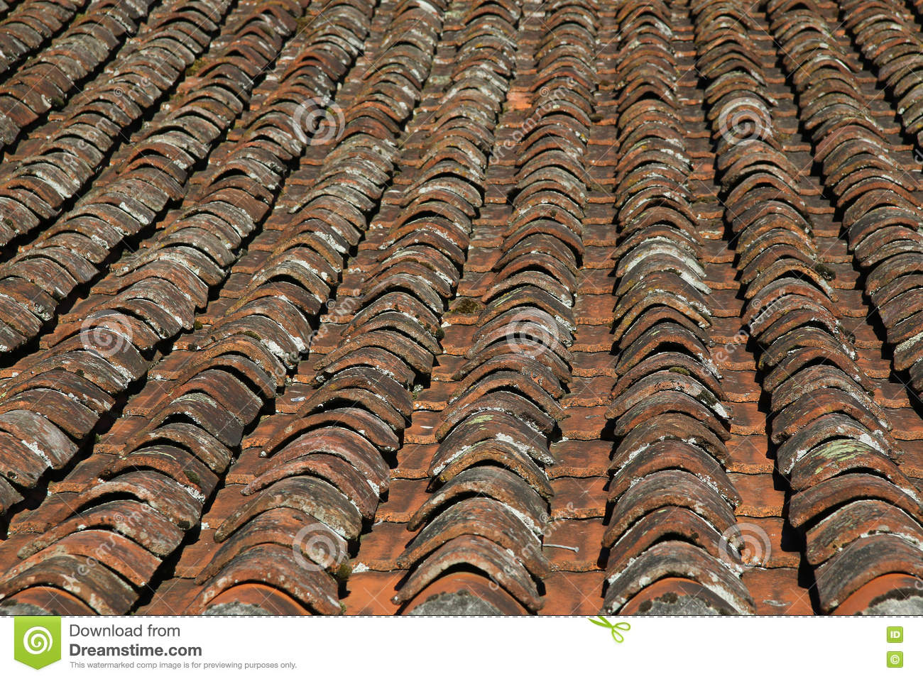 Red Tiled Roof Royalty Free Stock Photo Cartoondealer