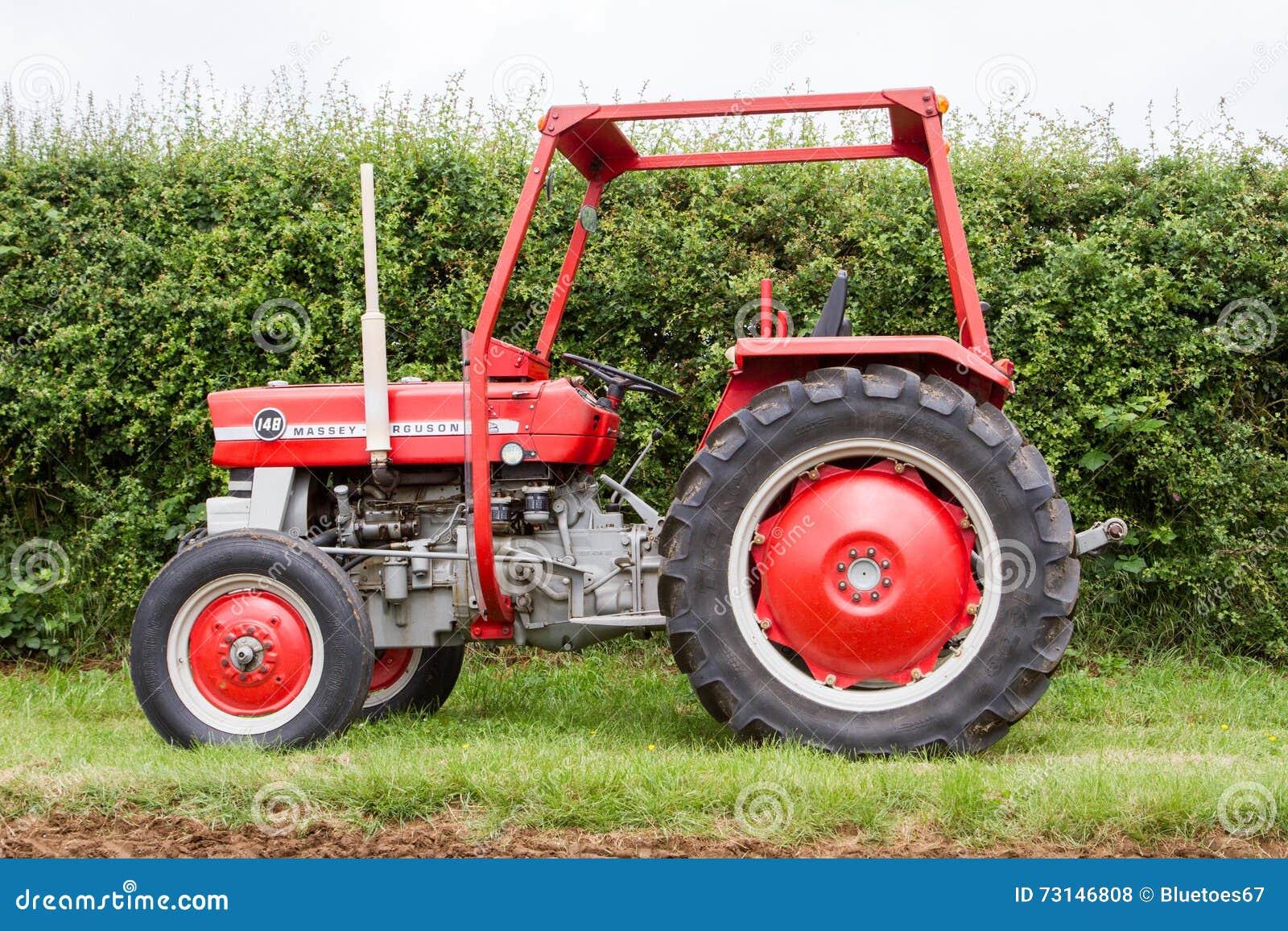 Farm Tractor Roll Bars : Old tractor ferguson stock photography cartoondealer