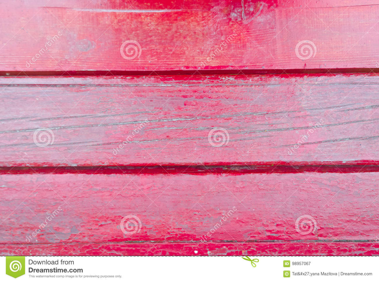 Old red wood planks texture. Tree background. Batten