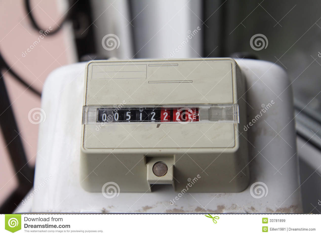 how to turn on gas meter at home