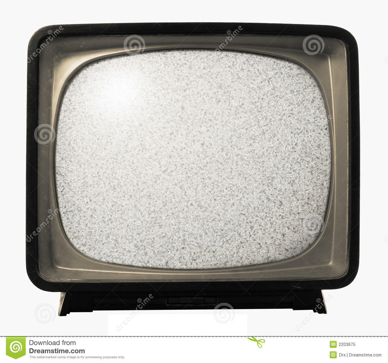 Old Retro Tv Noise Stock Image Image Of Program Vintage 2203675