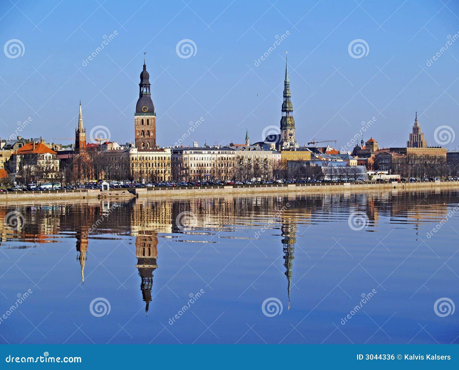 Old Riga across the Daugava